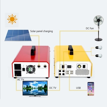 Home 500W 5KW Off Grid Solar Energy Products portable solar power generator