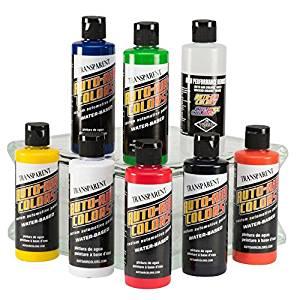 Auto Air Colors 4200 Series Transparent Set, 4oz.