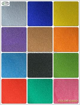 Paint Rubber Flooring Stone Hard Epoxy Flooring Color Sand For Epoxy Floor  Paint Coating