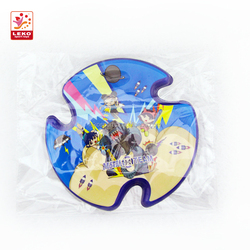 The PU flying Frisbees play indoor and outdoor game with Children