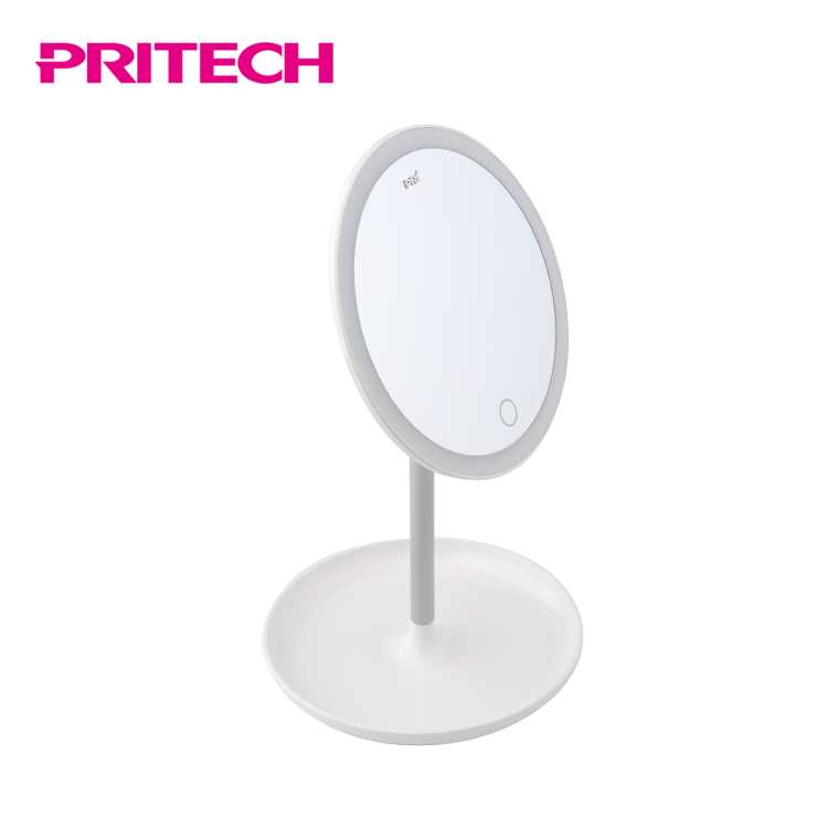 PRITECH Eigene Kosmetik Make-Up Led Eitelkeit Spiegel Mit Licht