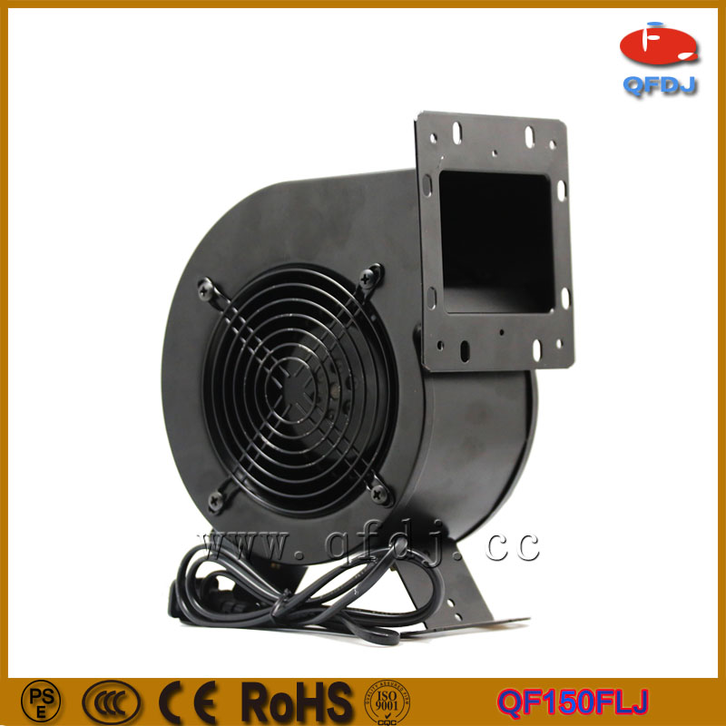 220v AC centrifugal exhaust fan good quality 130mm radial centrifugal fans