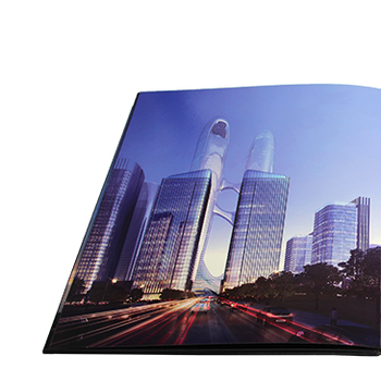 Good quality soft cover custom glossy lamination cover coloring art magazine / catalog book printing