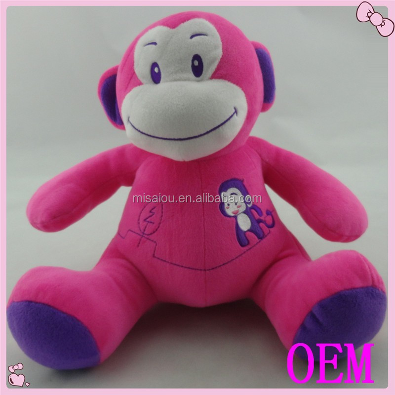 ICTI Factory High Quality Custom stuffed animal plush toy Monkey
