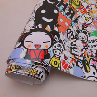 JDM Sticker Bomb Car Wrapping Film