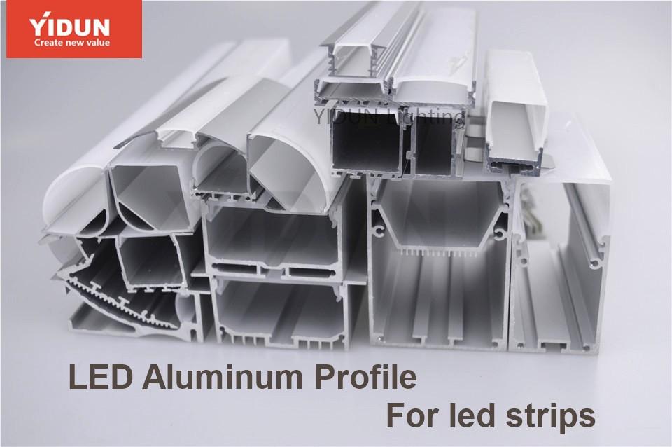Yidun Lighting 4615 Architectural Gypsum Ceiling Aluminum Led Channel Light  Tile Trim Profile - Buy Aluminum Tile Trim Profile,Ceiling Alu Led Channel