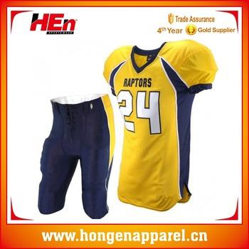 b81d9fa062b1d Hongen ropa más nuevo diseño ropa deportiva personalizada fútbol americano  ...
