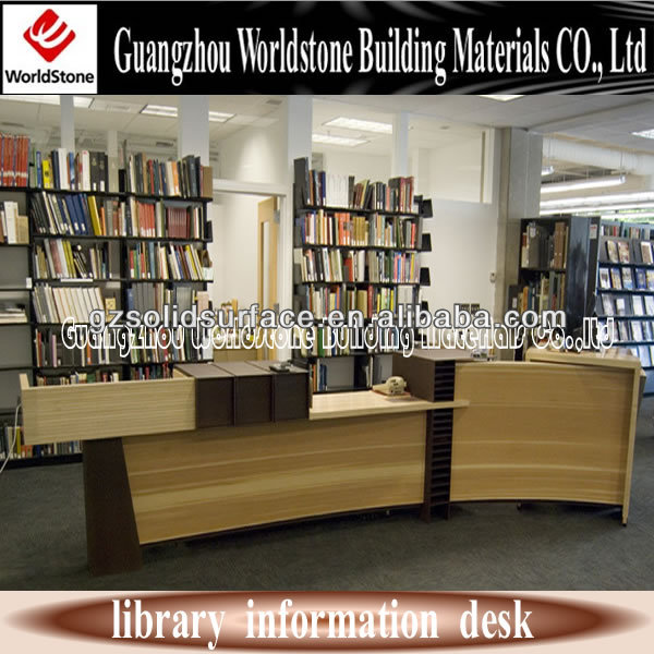 Information Desk Design reception counter design for library, reception counter design for
