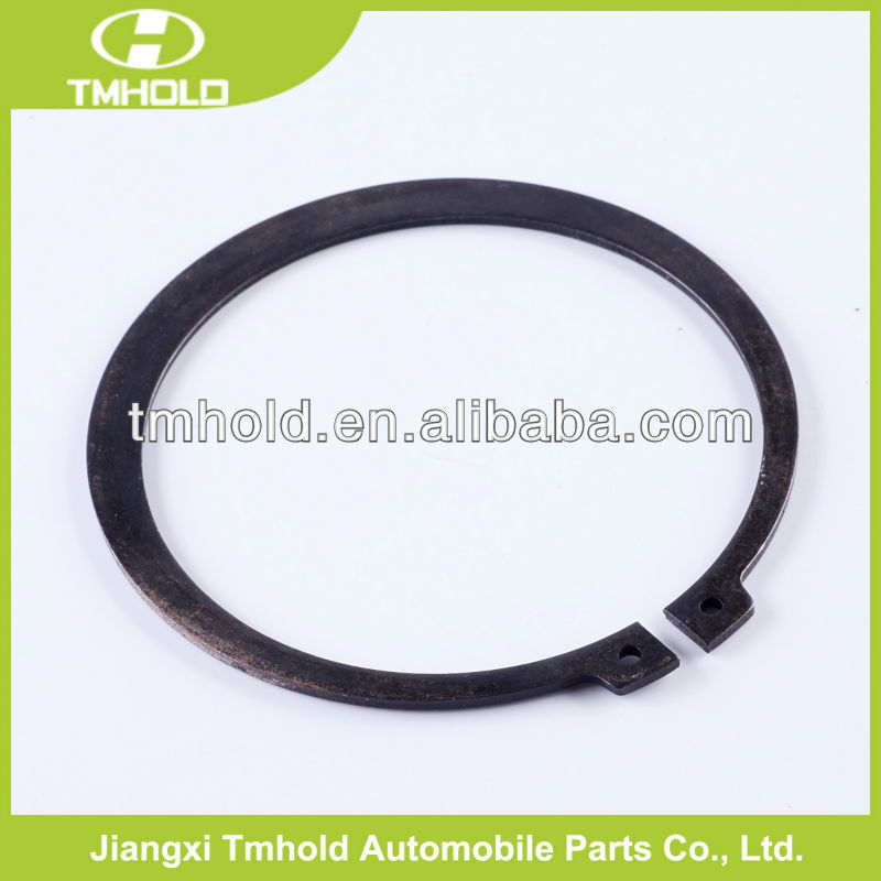 Retaining ring titanium durable piston circlip for shaft for auto parts