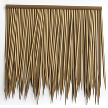 Cheapest Price environmentally pvc fireproof artificial straw water reed thatch roof