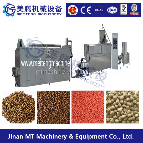 2018 year Best selling Automatic floating fish feed pellet making machine