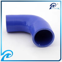 Smooth or Wrapped Silicone Rubber Hose Flexible Hose High Temperature