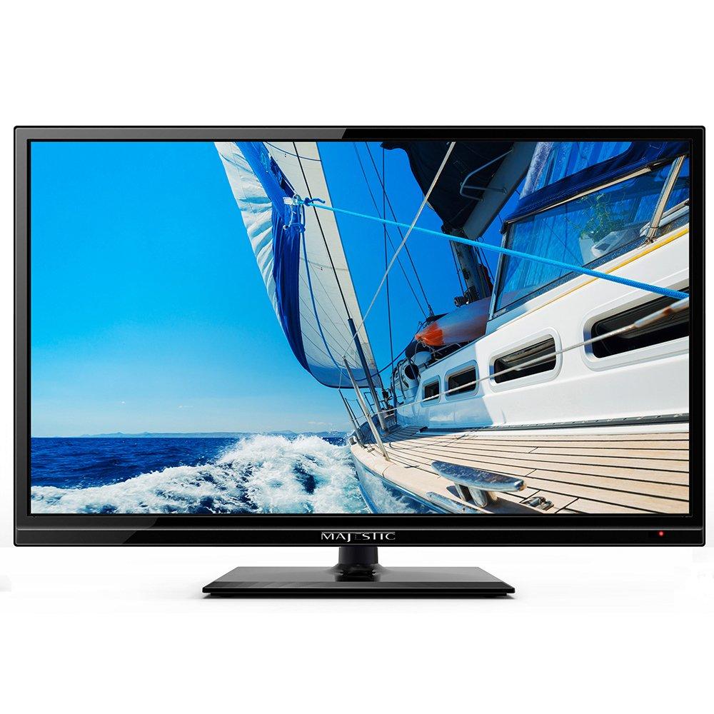"Majestic Global USA Majestic 19"" Led 12v Hd Tv W/built-In Global Tuners - 2x Hdmi Brightness (Nits) = NONE   HD Ready ="