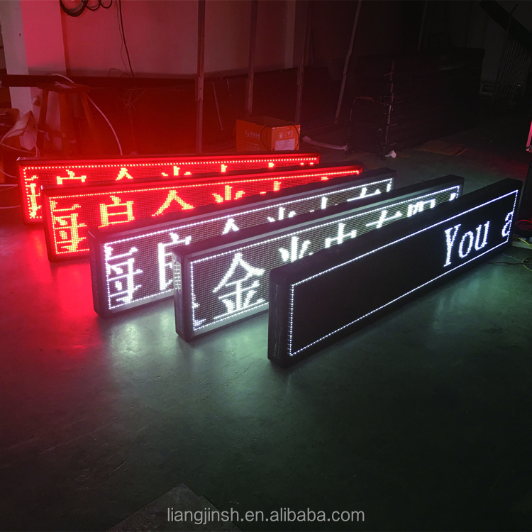 P10 Outdoor Enkele Kleur Led Display digitale sign board Remote Wifi 3g Wifi Draadloze Digitale Scrolling Led Moving Teken