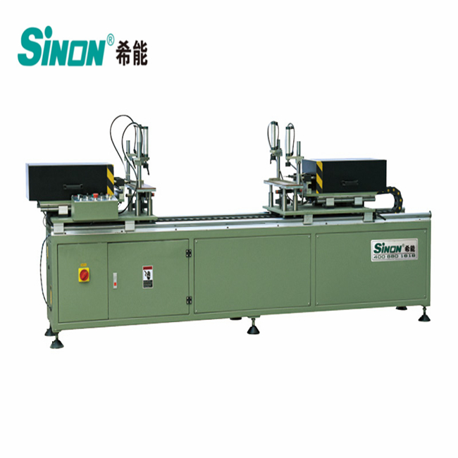 double head hinge drilling machine