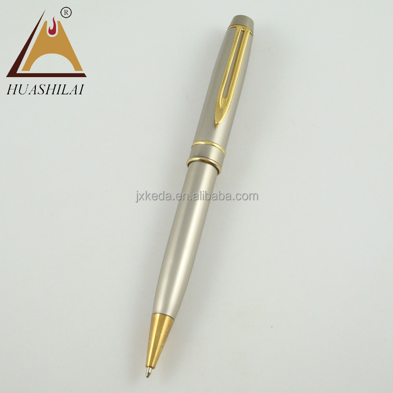Promtional paper clip pen metal twist mechanisms