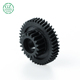 Good self- lubrication POM worm gear acetal plastic spiral gear for various machine