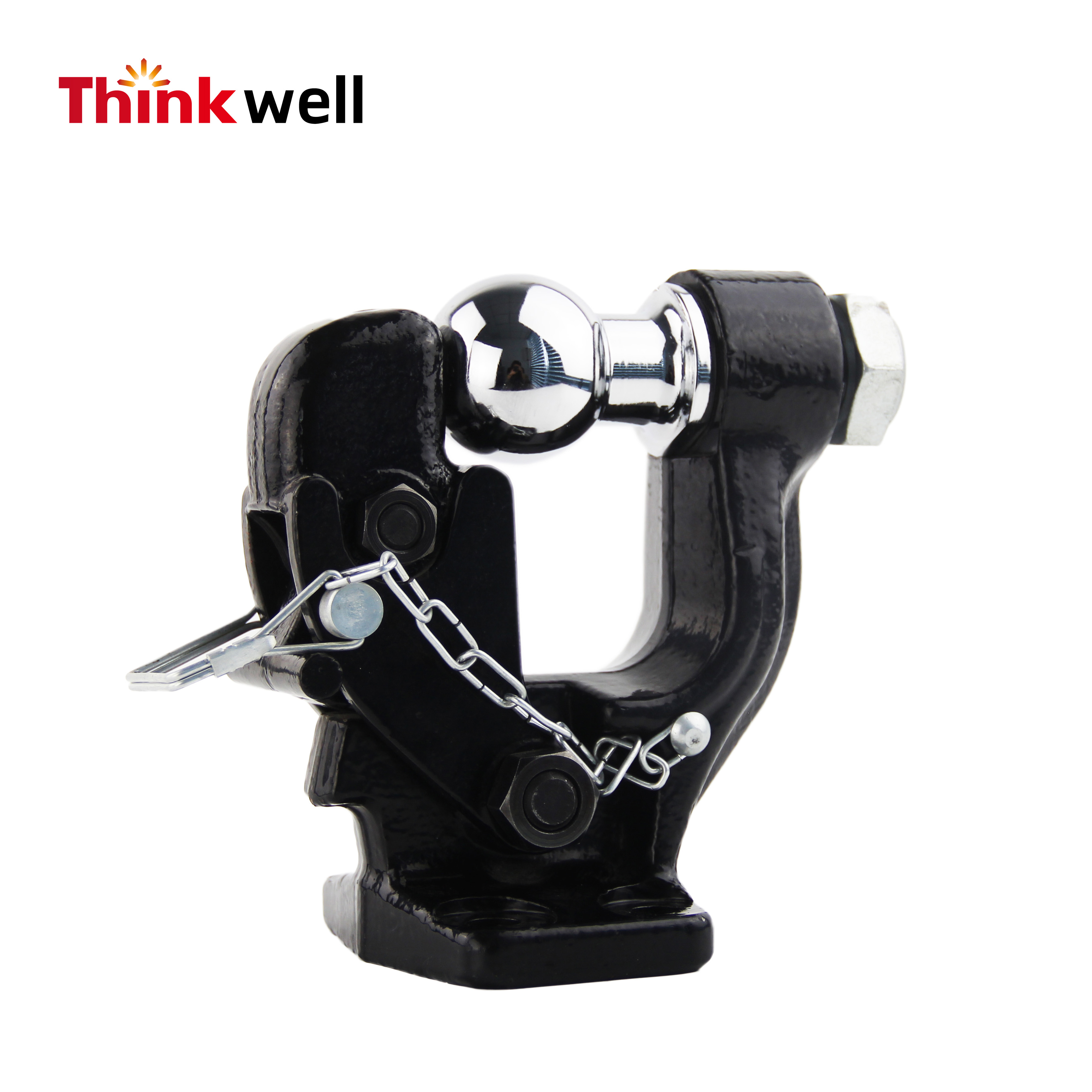 Hot Selling 4wd Adjustable Receiver Pintle Hook Hitch Ball
