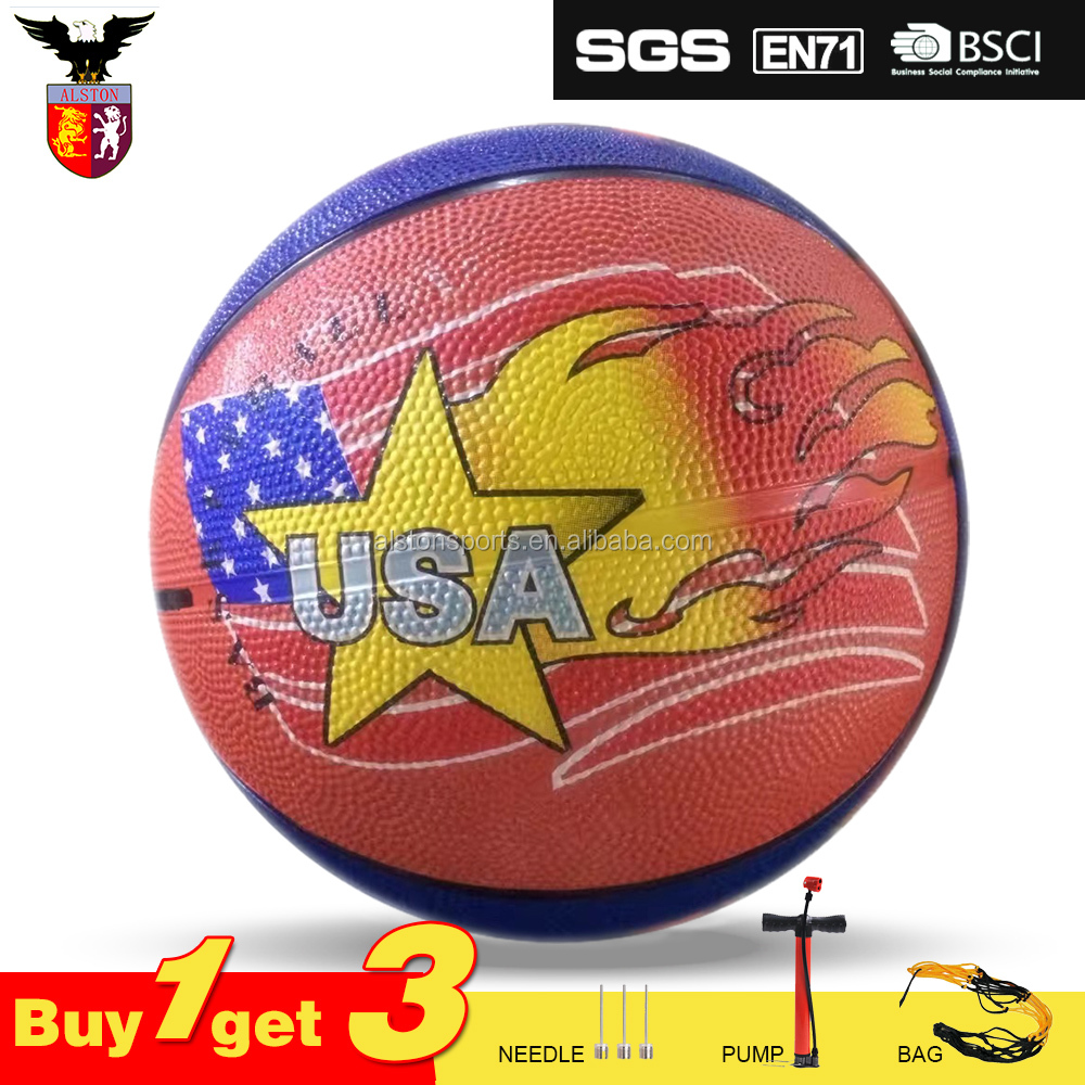 Hot Sale Rubber Mini Basketball Size 3 For Kids