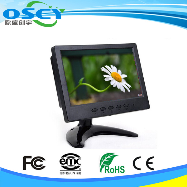 led monitor 7 touch monitor/ touch table price for car monitor