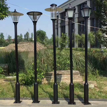 Hot-dip-galvanized pole light Steel Pole Manufacturer outdoor lamp post Factory street lighting pole