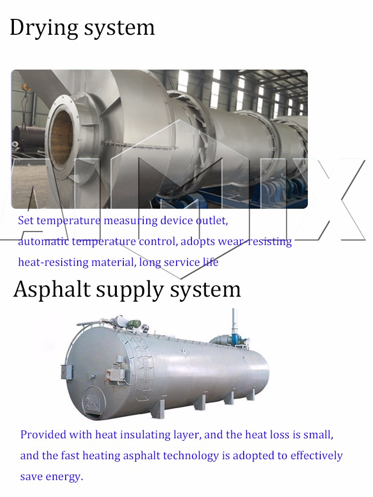 Top factory 80t/h cost of stationary asphalt plant manufacturers