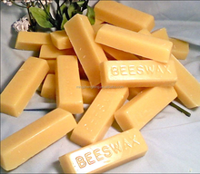 Top quality 100% pure honey smell yellow organic bees wax bar for sale