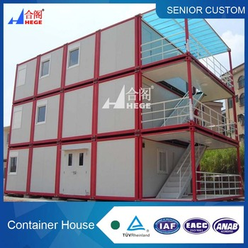 moistureproof sound insulation and fireproofing steel sandwich wall panel container house from China