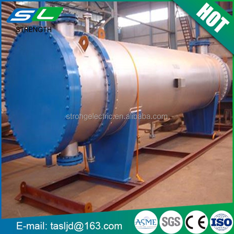 Leading supplier ASME certification excellent quality strong anti-corrosion shell and tube condenser from China