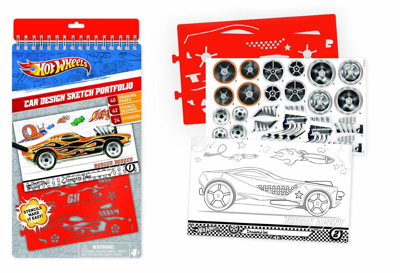 Hot Wheels Car Design Compact Sketch Portfolio