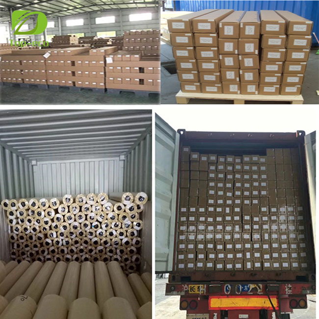 China Manufacturer high Quality 1.52*50m pvc white self adhesive vinyl