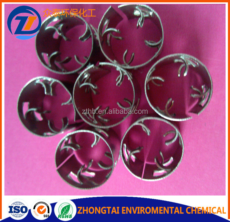 Stainless steel 304,304L,316,316L,410 metal pall ring
