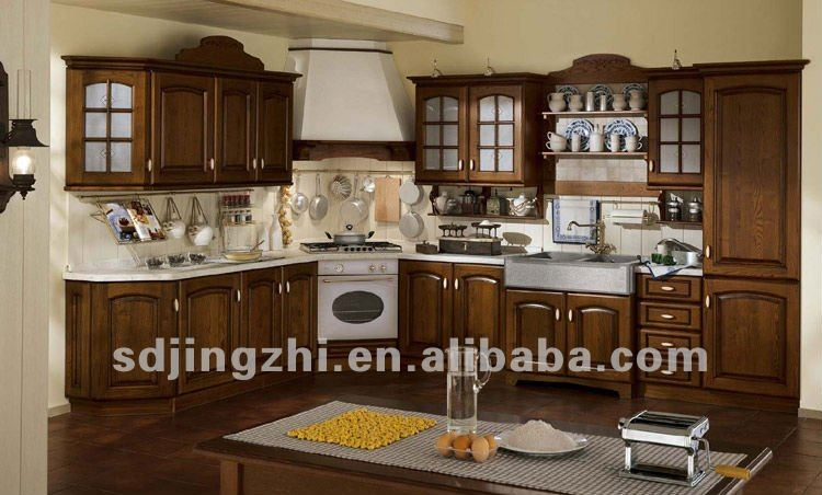 meuble cuisine en bois massif moderne plat de cuisine en bois m if armoire meubles - Meubles Modernes Bois
