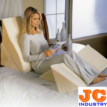 reading sleeping bed wedge foam pillow - Bed Wedge
