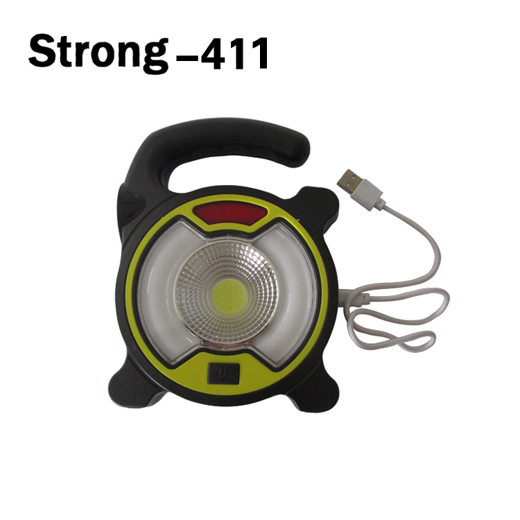 New type rechargeable camping lantern with FM radio and solar panel