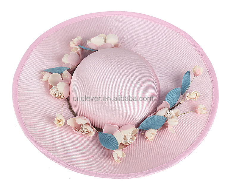 New product unique style plastic flower decoration wedding headwear