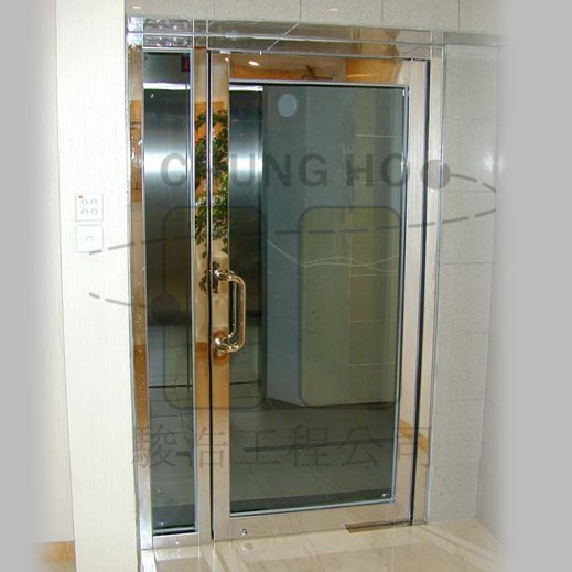 Fire Rated Single Door W One Hour Fire Rated Fixed Panel Buy Fire