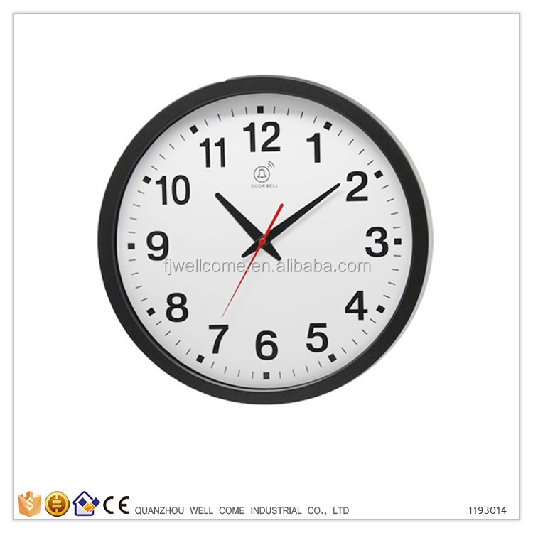 Fast Selling Cheap Products Plastic Wall Clock Round