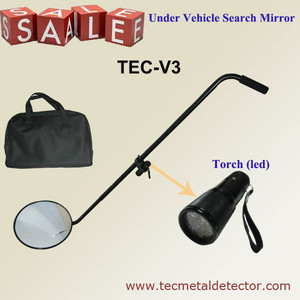 Car security under vehicle inspection mirror supplier, under vehicle detection TEC-V3