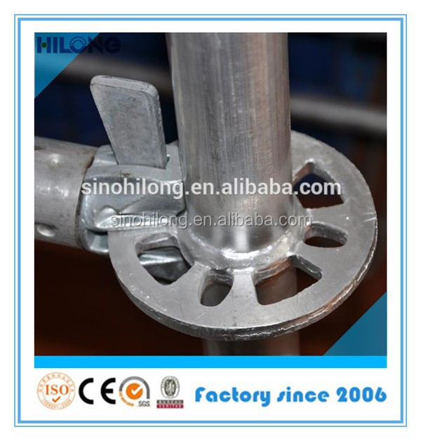 Construction Scaffolding Q345 Steel Rosette Ringlock Part