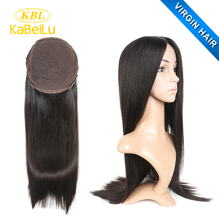 Kbl Natural Color Silk Top Lace Wigs Guangzhoucurly Hair Wig Caps