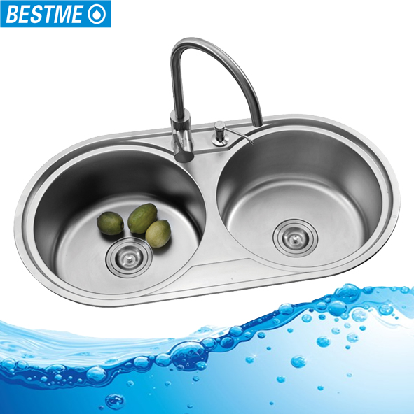 Stainless steel double bowl round kitchen sink stainless steel stainless steel double bowl round kitchen sink stainless steel double bowl round kitchen sink suppliers and manufacturers at alibaba workwithnaturefo