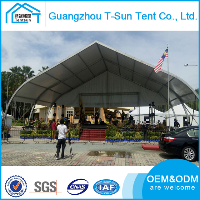 Aluminium Pole OEMu0026&;ODM Offer Large Capacity Peach Shape Marquee Tent Curve Sport Marquee Stadium & Buy Cheap China aluminum curved pole Products Find China aluminum ...