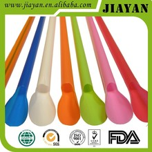 yiwu supplier hot style spoon straw for ice cream