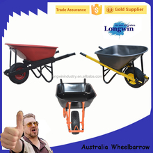 Australia Industry Concreters Construction Heavy Duty Wheelbarrow