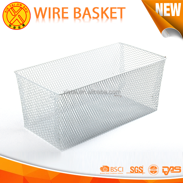 Wholesale various kinds of baskets kitchen metal wire basket display rack