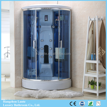 Cheap Price Self Contained Steam Bath Fibreglass Shower Cubicle With