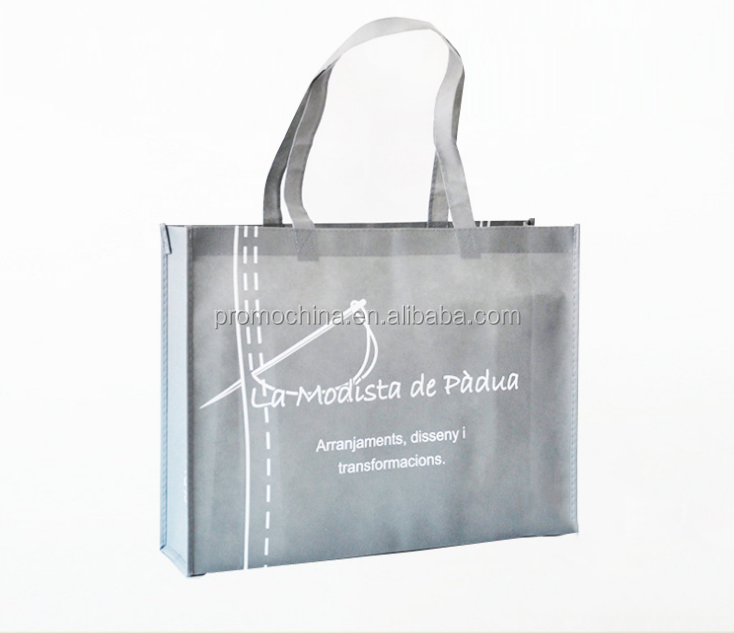 High Quality 100g Durable Non-woven Shopping Tote Bag With Custom Logo