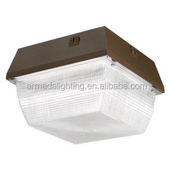 50w Outdoor Led Canopy Gas Station Light Fixture