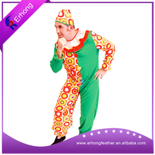 Man's Green color Joker cosplay costume